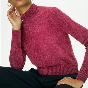 WILFRED   Corteta Essential Chenille Turtleneck Sweater Size Large Aritzia